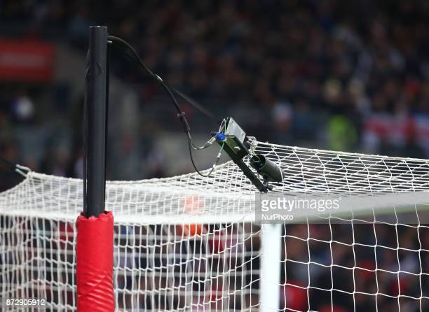 First official game in this country to use the technology Video Assistant Referee System during International Friendly match between England and...