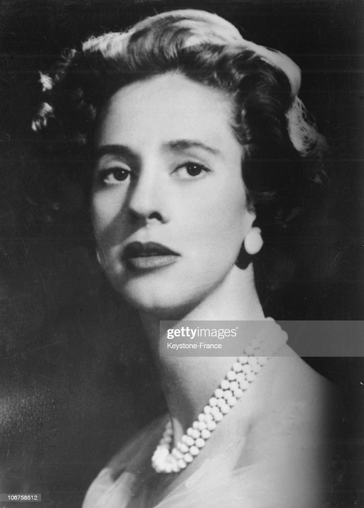 First Official Portrait Of The King Baudouin S Fiancee, Dona Fabiola De Mora Y Aragon, In The 1950'S. : News Photo