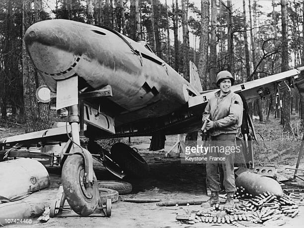 First Operational Jet Plane At Germany Messerschmitt 262 In Europe