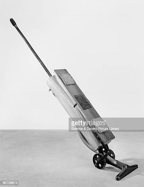 First patented in 1908 the 'Daisy' requires only one person to operate it Although called a Sweeper it is really a vacuum cleaner with the wheels...