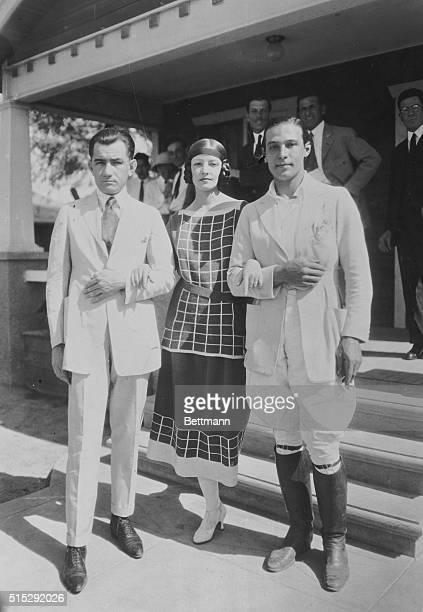 First Photo of Wedding Which has Stirred Up Picture World Rudolph Valentino film hero and Natacha Rambova dancer and art director for Nazimova...