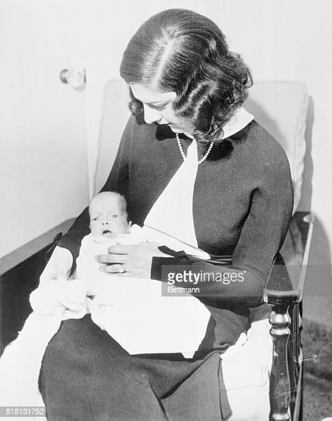 First Picture of Libby Holman and Baby Libby Holman Reynolds popular blues singer and wife of Smith Reynolds tobacco heir has been here with her...