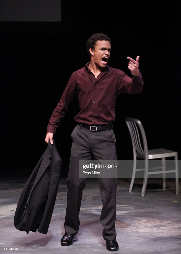 The August Wilson Monologue Competition Regional Finals : News Photo