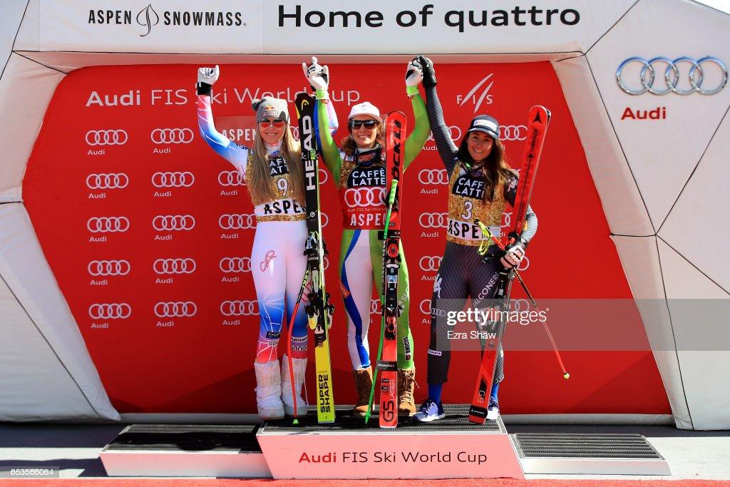 2017 Audi FIS Ski World Cup Finals - Ladies' Downhill : News Photo