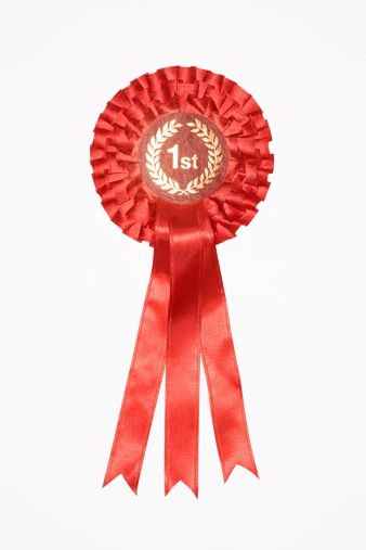 First place rosette - gettyimageskorea