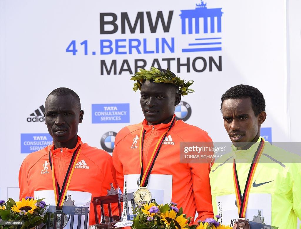 GERMANY-BERLIN-MARATHON : News Photo