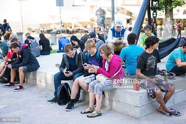 First Pokemon gathering in Ljubljana, Slovenia
