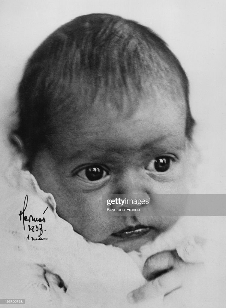 Princess Birgitta Of Sweden As A Baby : News Photo