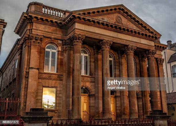 first presbyterian church of derry. - presbyterianism stock photos and pictures