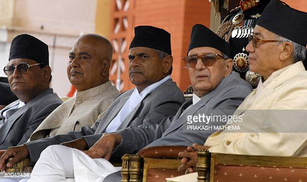 First president of the Federal Democratic Republic of Nepal Ram Baran Yadav chief justice Kedar Prasad Giri Vice President Parmananda Jha Nepalese...