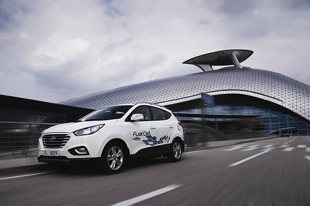 Business - Hyundai Hydrogen fuel cell cars Pictures   Getty Images