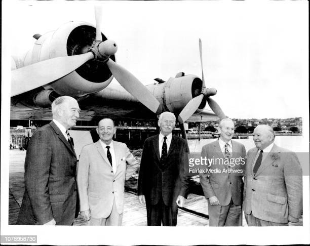 First RAAF war time pilots meet at the rose ray flying boat base after 35 years at the out break of world war 11 they were formed in the nucleus of...