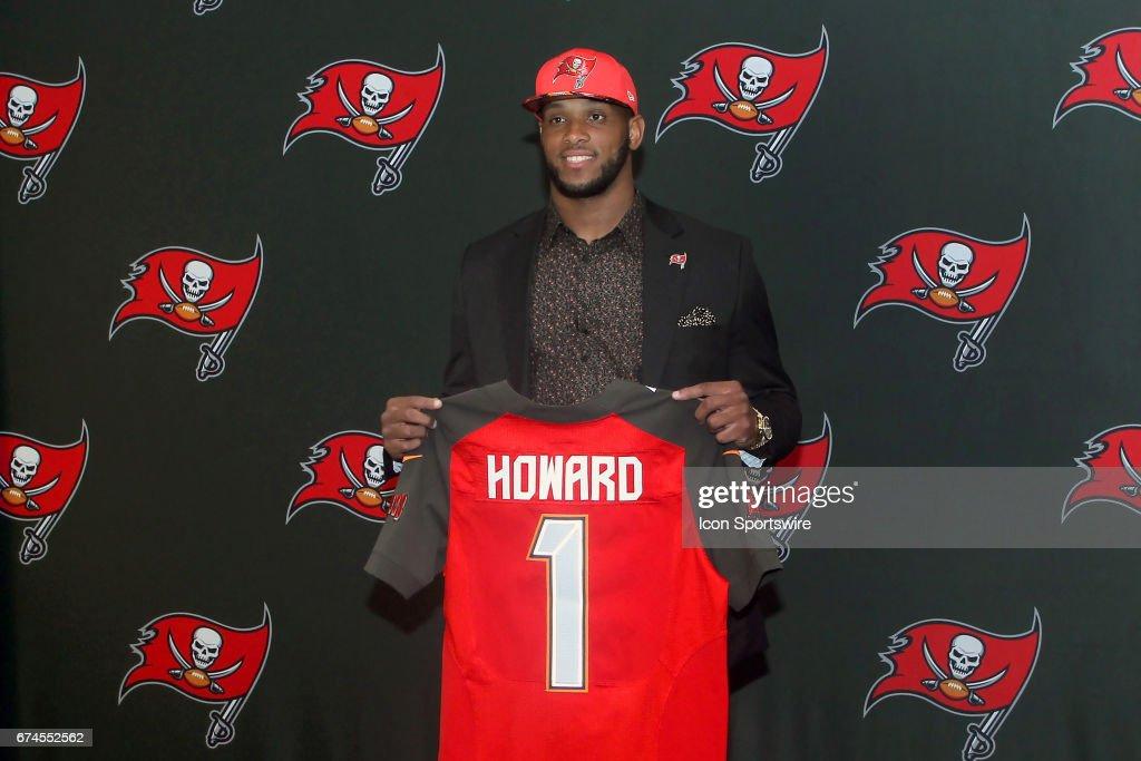 NFL: APR 28 OJ Howard Buccaneers Press Conference : News Photo