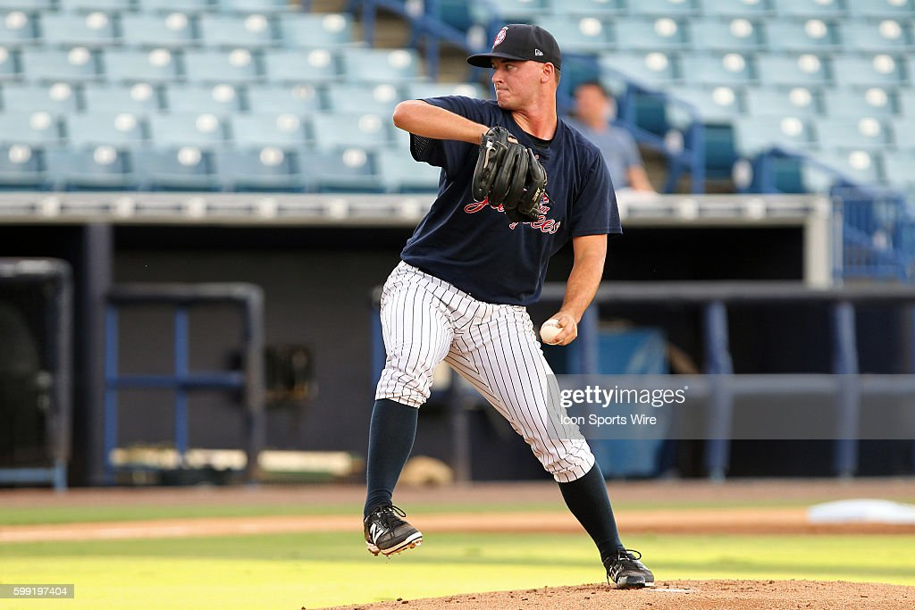 MiLB: AUG 07 Class A Advanced - Brevard County Manatees at Tampa Yankees : News Photo