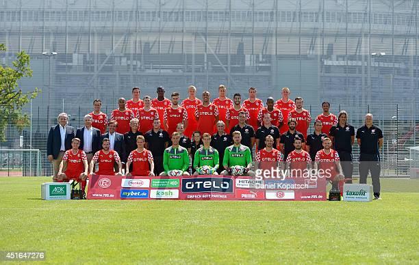 First row Andreas Lambertz, Christian Weber, Julian Schauerte, Michael Rensing, Robin Heller, Lars Unnerstall, Erwin Hoffer, Giannis Gianniotas,...