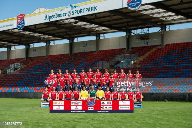 First row Jannis Turtschan, Maximilian Krauss, Andreas Hirtlreiter, Stephan Mensah, Luca Marseiler, Michael Gurski, Nico Mantl, Steve Kroll, Felix...