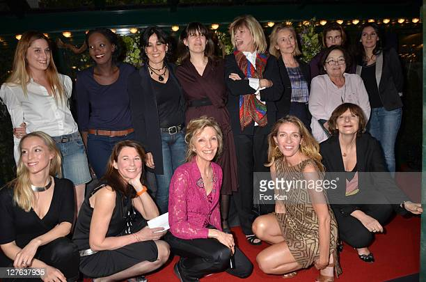 Writers Adelaide de Clermont Tonnerre Marie Christine Imbault Emmanuelle de Boysson Carole Chretiennot and Lydia Bacrie Second Row Jessica Nelson...