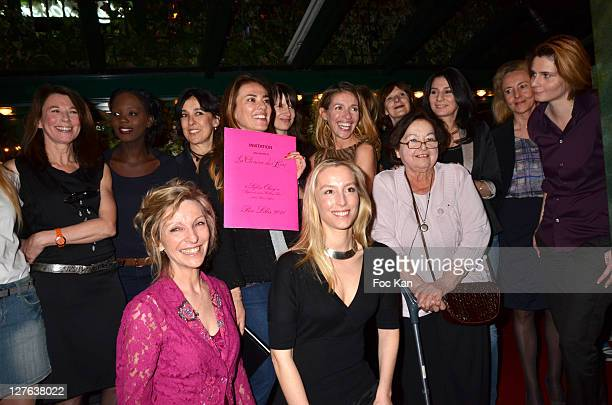 Writers Emmanuelle de Boysson and Adelaide de Clermont Tonnerre Second Row Marie Christine Imbault Minister Yama Rade Isabelle Alonso La Closerie des...