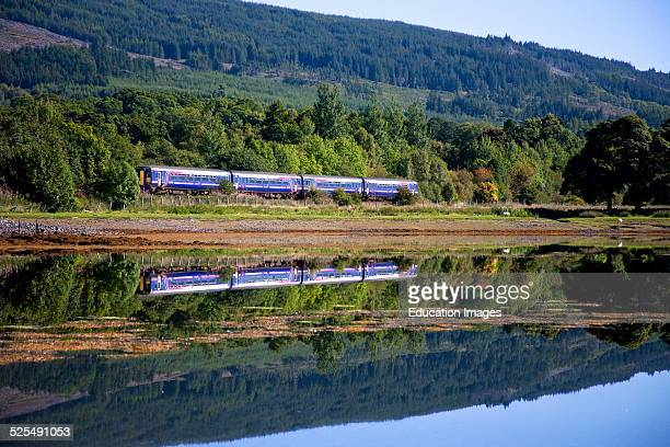 First Scotrail 156 Sprinter Loch Eil Mallaig Fort William line