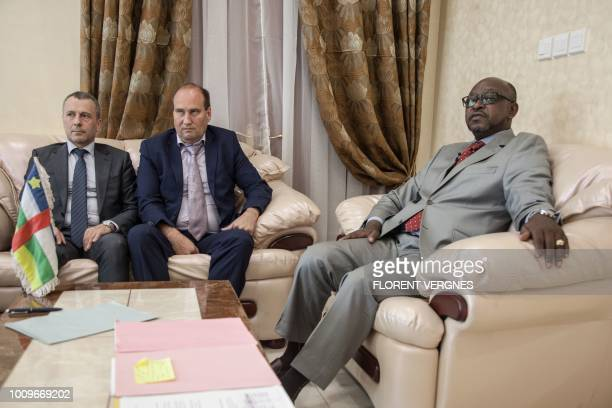 First Secretary at the Russian Embassy in the Central African Republic Victor Tokmakov Special Security Advisor to the Central African President...