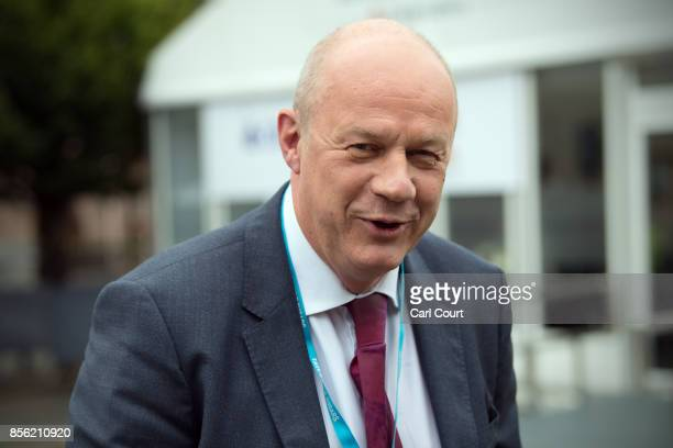 First Secretary of State Damian Green arrives for the first day of the annual Conservative Party conference October 1 2017 in Manchester England...