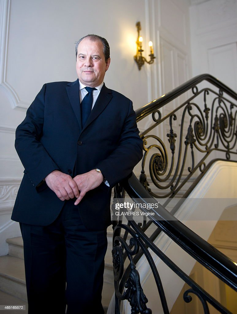 Jean-Christophe Cambadelis,First Secretary of the French Socialist Party Portrait Session