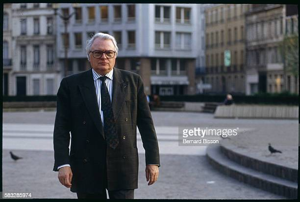 First Secretary of the Socialist Party, Pierre Mauroy, strolls through the streets of Lille in between engagements. In a typical day, after a morning...