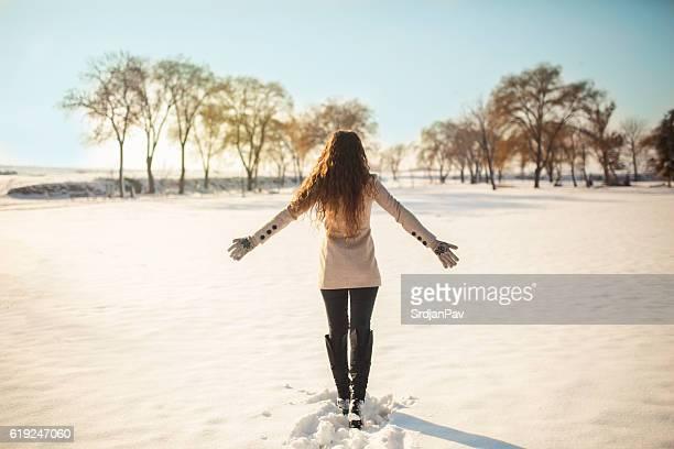 first snow - laars stockfoto's en -beelden