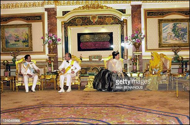 First state visit of His Majesty King Carl XVI Gustaf and Her Majesty Queen Silvia to Brunei In Bandar Seri Begawan Brunei Darussalam in February...