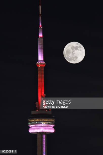 First Super Moon of 2018 in Toronto
