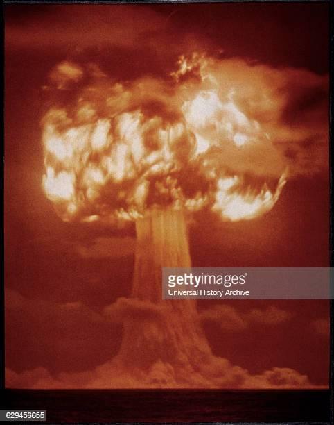 First Test Explosion of Atomic Bomb Alamogordo New Mexico USA 1945