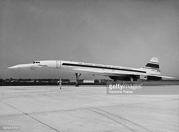 First Test For The Concorde Prototype 001 At Toulouse In France On August 22Nd 1968
