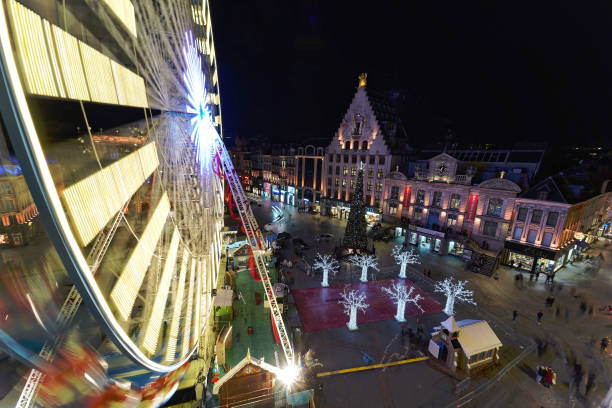 FRA: The Lille Big Wheel Turns Without Public