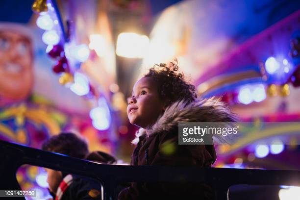 first time at the funfair - traveling carnival stock pictures, royalty-free photos & images