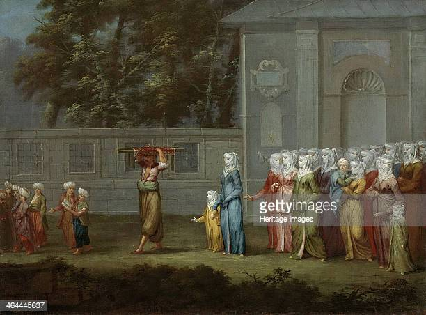 First walk to boys school 1737 Found in the collection of the Rijksmuseum Amsterdam