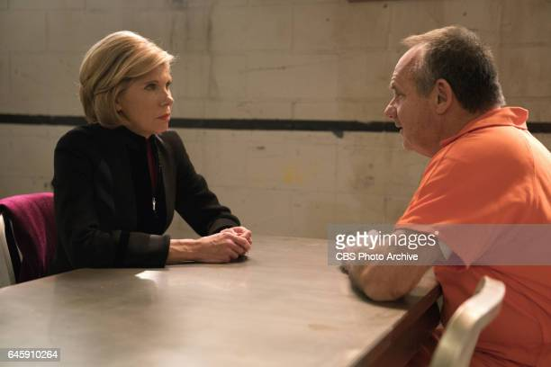 First Week Ep 102 Episodic coverage of THE GOOD FIGHT Pictured Christine Baranski as Diane Lockhart Paul Guilfoyle as Henry Rindell