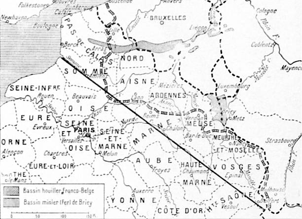Map of german claims in the north east of france pictures getty map of german claims in the north east of france gumiabroncs Images