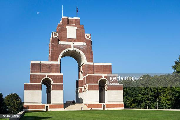 First World War One Thiepval Memorial to the Missing of the Somme France