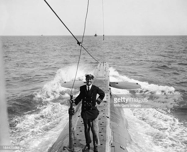 First World War Victoria Cross Holders' Portraits Portrait of Edward Courtney Boyle awarded the Victoria Cross HM Submarine E14 Dardanelles 27 April...