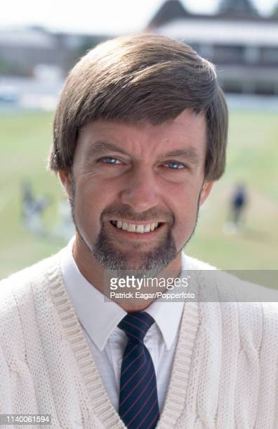 Firstclass umpire and former Northamptonshire and England cricketer Peter Willey during the 1st Test match between England Under19s and India...