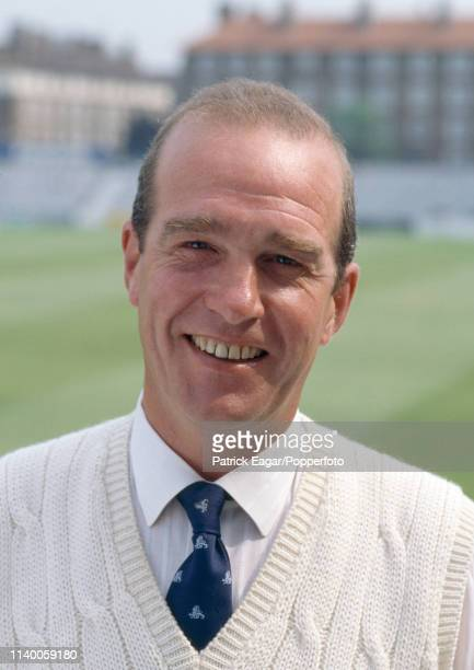 Firstclass umpire George Sharp during the Benson and Hedges Cup match between Surrey and Lancashire at The Oval London 11th May 1993 The TCCB used...