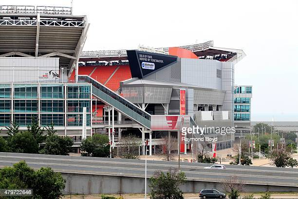 FirstEnergy Stadium home of the Cleveland Browns football team on June 19 2015 in Cleveland Ohio