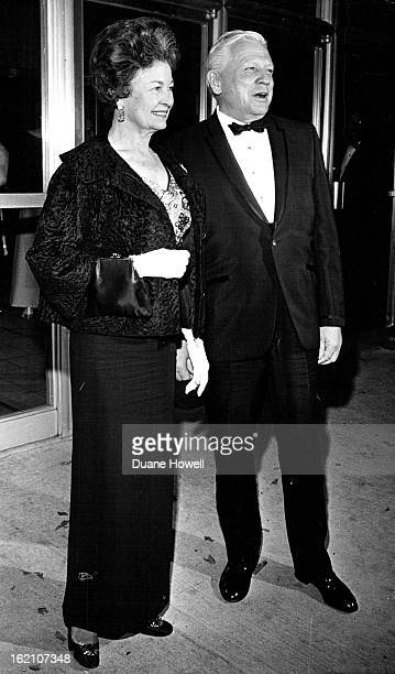 OCT 9 1969 OCT 10 1969 Firstnighters At Bonfils Opening Mr And Mrs Francis Van Derbur Took In The Opening Of how To Succeed In Business Without...
