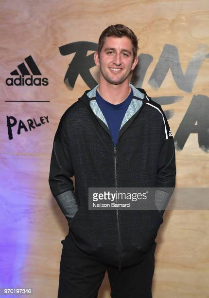 Firstround draft pick Josh Rosen attends adidas x Parley 'Run For The Oceans' event harnessing the power of sport and continued fight against the...