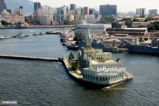 Fiscal Island and Rio de Janeiro Harbour