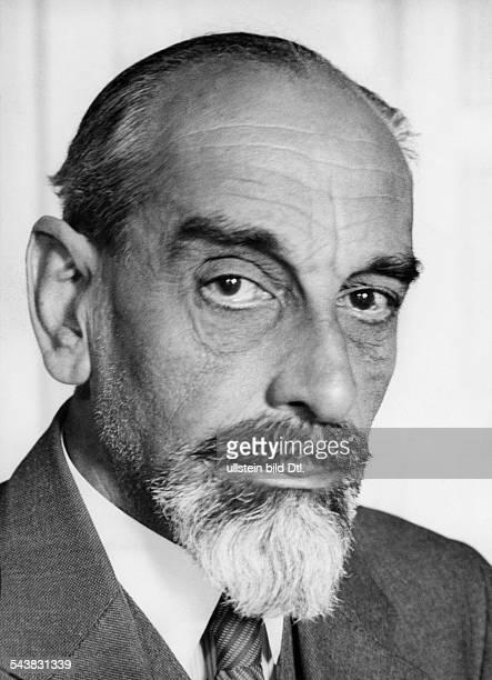 "Fischel, Oskar - Art historian, Germany*10.07.1870-+- teacher at the ""Staatliche Kunstschule Berlin"" until 1933 - Photographer: Dephot- 1930Vintage..."