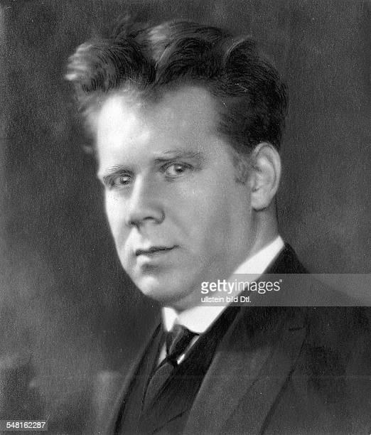 Fischer Edwin *06101886 Pianist Dirigent Schweiz Portrait undatiert