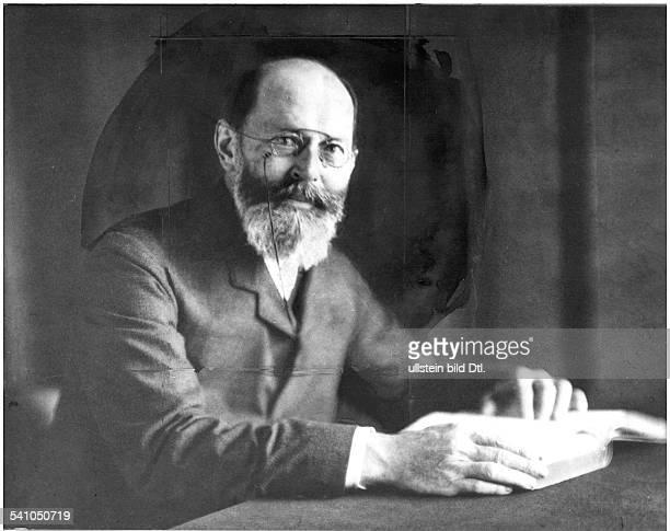 Fischer, Emil *09.10.1852-+Chemiker, D- um 1910- Aufnahme: Rudolph Duehrkoop