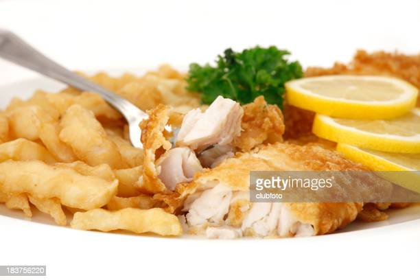 Fish and chips (French fries)