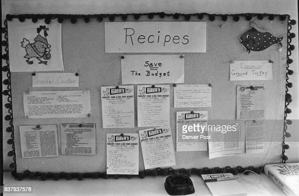 Fish and fowl recipes clipped form newspapers and submitted by customers adorn a bulletin board in the store which is an old remodeled barn Credit...